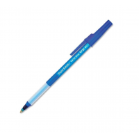 Papermate Write Bros Grip Ballpoint Pen Medium Point Blue 1x